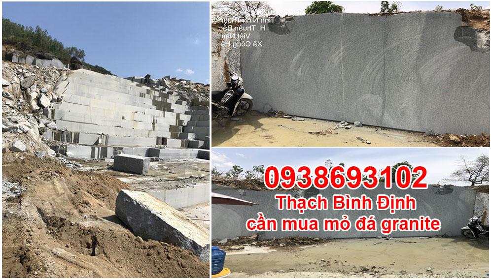Cần mua thêm mỏ đá các tỉnh thành Bình định, Phú yên, Khánh hòa,