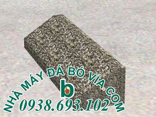 đá bó vỉa đen trái 25 30